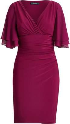 Lauren Ralph Lauren Ralph Lauren Flutter-Sleeve Georgette Dress