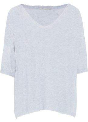 Autumn Cashmere Cotton By Distressed Slub Cotton-Jersey T-Shirt