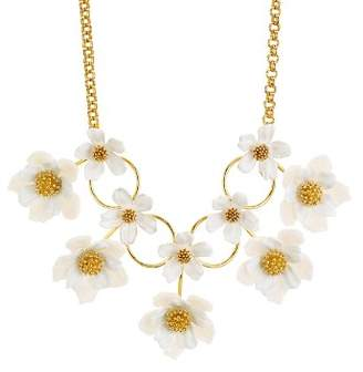 Kate Spade Floral Statement Necklace, 14""