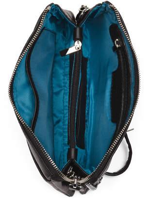 Multi Compartment Leather Crossbody