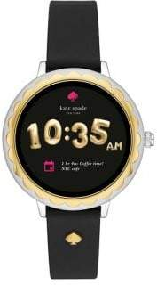 Kate Spade Scallop Touchscreen Leather Smartwatch
