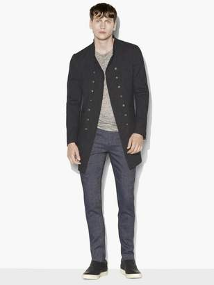 John Varvatos Double Breasted Coat