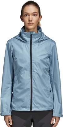 adidas Women's Wandertag Hooded Rain Jacket