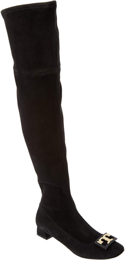Tory Burch Gigi Suede Over-The-Knee Boot