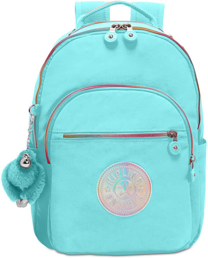 Kipling Seoul Go Small Backpack - BLACK/SILVER - STYLE