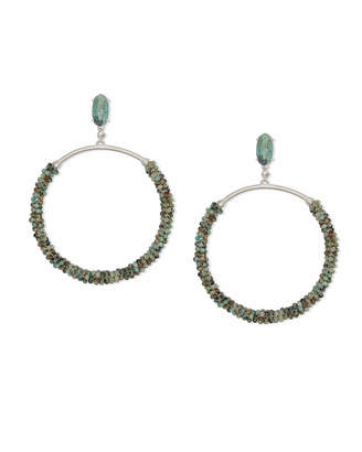 Kendra Scott Russel Hoop Earrings