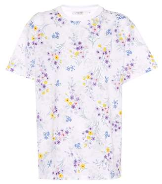 Max Mara Conio floral-printed cotton T-shirt
