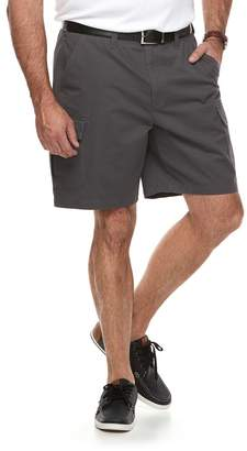 Croft & Barrow Big & Tall Flex Relaxed-Fit Twill Cargo Shorts