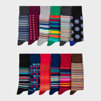 Paul Smith Men's Sock Subscription $235 thestylecure.com