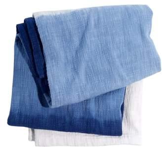 John Robshaw Maneka Dip Dye Throw Blanket
