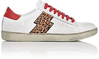 Amiri Women's Viper Leather & Calf Hair Sneakers - White