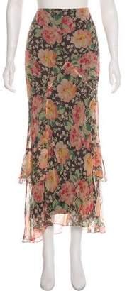 Ralph Lauren RLX by Floral Midi Skirt w/ Tags