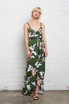 Rachel Pally Britta Wrap Dress - Calla Print / Black