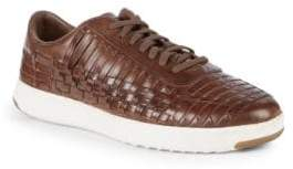 Cole Haan Grandpro Tennis Huarache Leather Sneakers