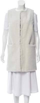 Ji Oh Reversible Faux Fur Vest w/ Tags