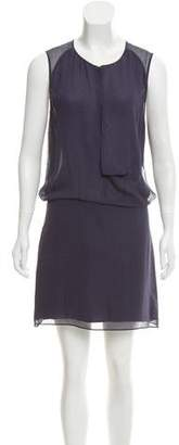 Acne Studios Silk Sleeveless Mini Dress