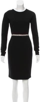 Stella McCartney Embellished Knee-Length Dress