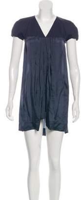 Rick Owens V-Neck Mini Dress w/ Tags V-Neck Mini Dress w/ Tags