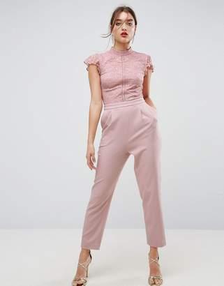 150b2cbe49 Lace Top Jumpsuit - ShopStyle