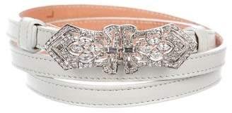 Ralph Lauren Leather Skinny Belt