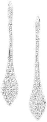 Adriana Orsini Women's Zen Crystal Linear Drop Earrings