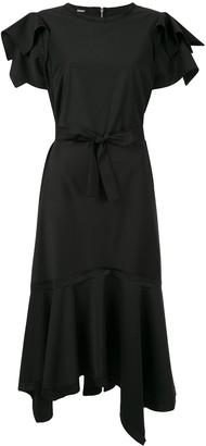 Taylor Adorn ruffled asymmetric dress