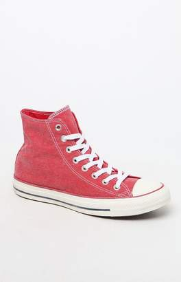 Converse Women's Red Vintage All Star Low Top Sneakers