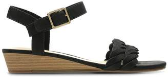 Clarks Mena Blossom Leather Sandals