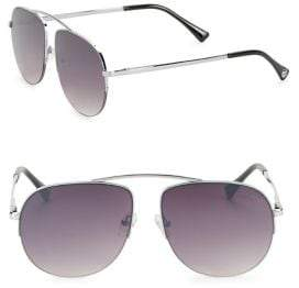 Sam Edelman 55MM Aviator Sunglasses