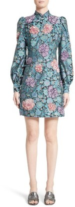 Women's Marc Jacobs Embellished Rose Jacquard Dress $3,800 thestylecure.com