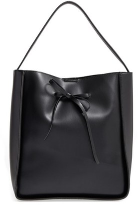 Sole Society Primm Faux Leather Bucket Bag - Black $64.95 thestylecure.com