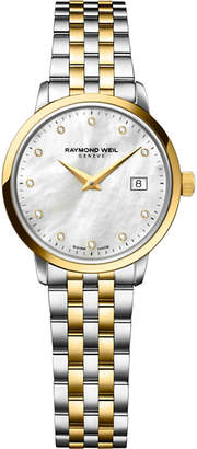 Raymond Weil 5988-stp-97081 Toccata stainless steel diamond-studded watch