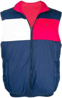 Tommy Jeans reversible padded gilet