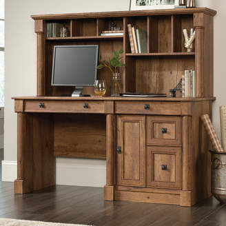 Three Posts Orviston Computer Desk with Hutch