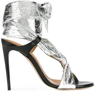 IRO ankle tie stiletto sandals