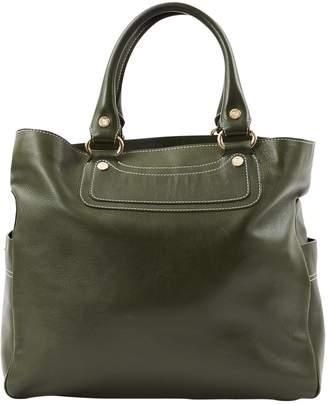 829086f4db8f Celine Boogie Green Leather Handbag
