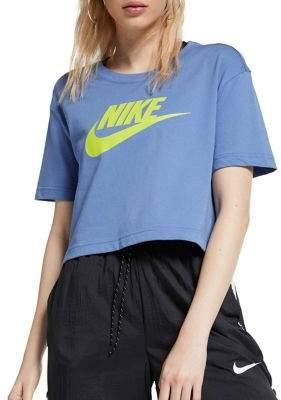 Nike Sportswear Essential Cropped Cotton Tee