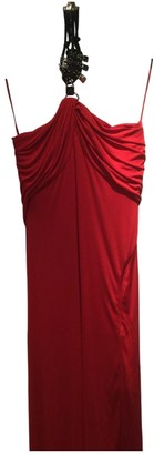 Gianni Versace Red Dress for Women