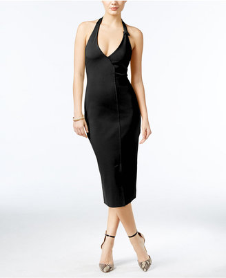 GUESS Odiana Halter Midi Dress $108 thestylecure.com