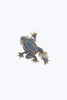 Marc Jacobs Pave Frog Brooch