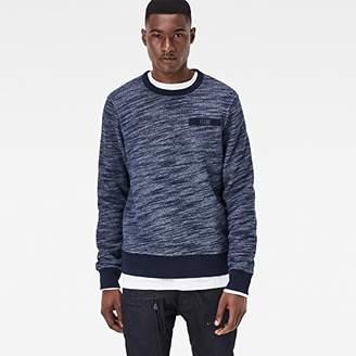 G Star Men's Icket Ma1 Style Crew Sweatshirt