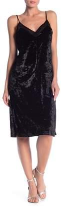 Angie Velvet Slip Dress