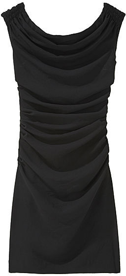 Helmut Lang / Dry Crepe Ruched Dress
