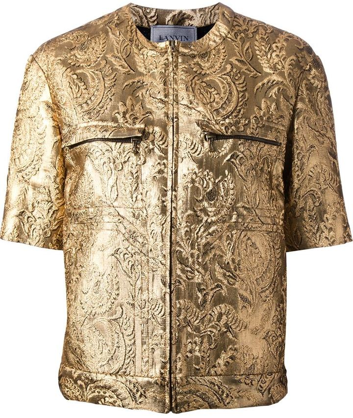 Lanvin brocade jacket