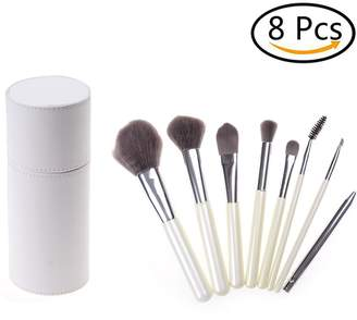 Moonguiding 8 Pcs Professional Makeup Brush Set with case for Smooth Makeup Application,Different