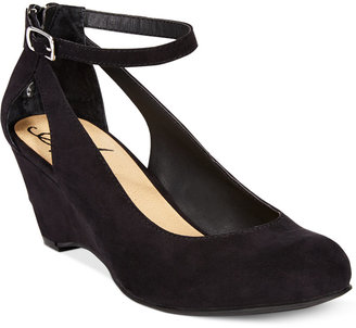 American Rag Miley Chop Out Wedges, Only at Macy's $59.50 thestylecure.com