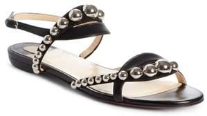 Christian Louboutin Galeria Ornament Flat Sandal