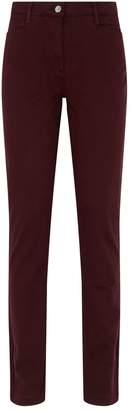 Purdey Cotton Straight-Leg Chinos