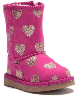 Harper Canyon Lil' Lucy Fab Faux Shearling Boots (Toddler & Little Kid)