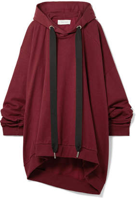 Marques Almeida Marques' Almeida Asymmetric Oversized Cotton-jersey Hooded Top